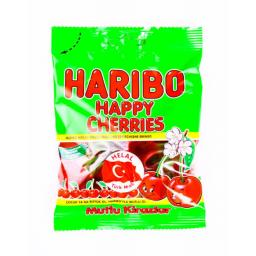 Halal Haribo Happy Cherries 100grams