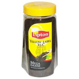 Lipton Yellow Label Loose Tea in Jars 475 Grams