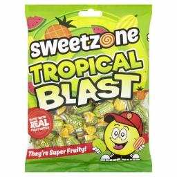 Sweetzone Tropical Blasts 225 Gram Packets