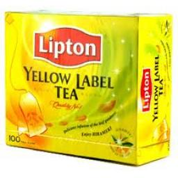 Lipton Yellow Label Tea Bag 100 bg