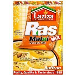 Laziza Rasmalai Mix Saffron 75 grams