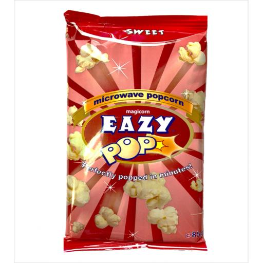 EAZYPOP Microwave Popcorn Sweet Flavour 85g