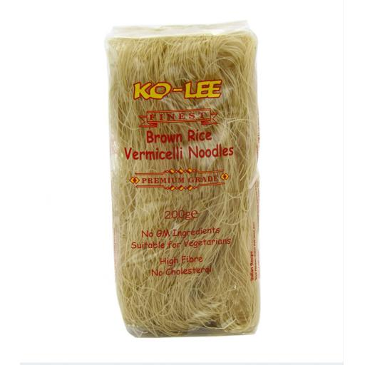KO-LEE Brown Rice Vermicelli Noodles 200g