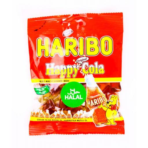 Halal Haribo Cola 100grams