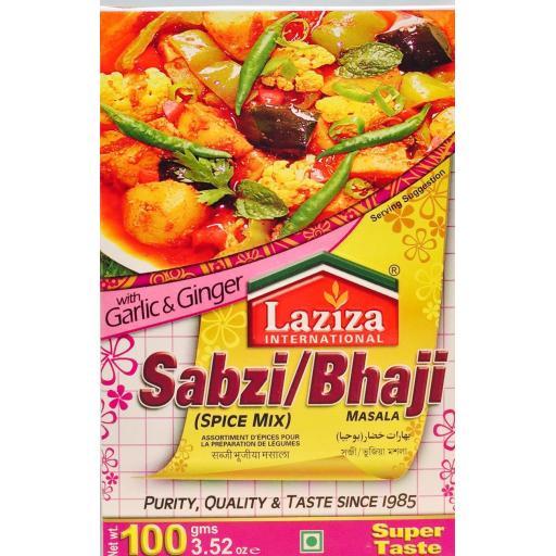 Laziza Sabzi Masala 100grams