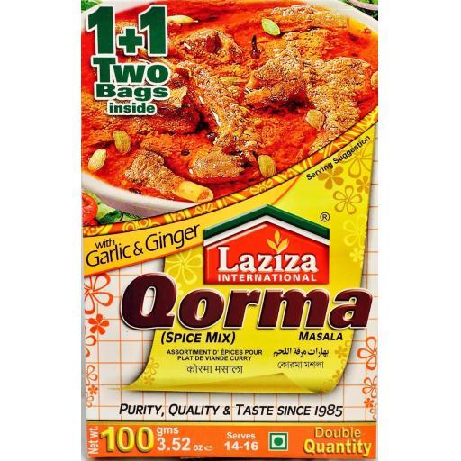 Laziza Qorma Masala 100grams