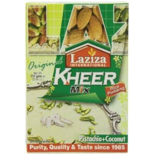 Laziza Kheer Mix Pistachio & Coconut 155 Grams
