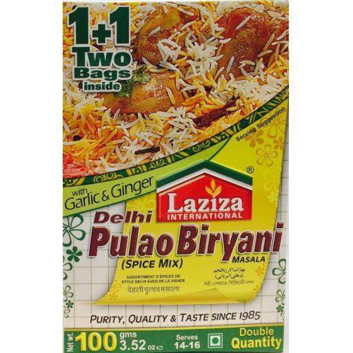 Laziza Delhi Pulao Masala 100grams