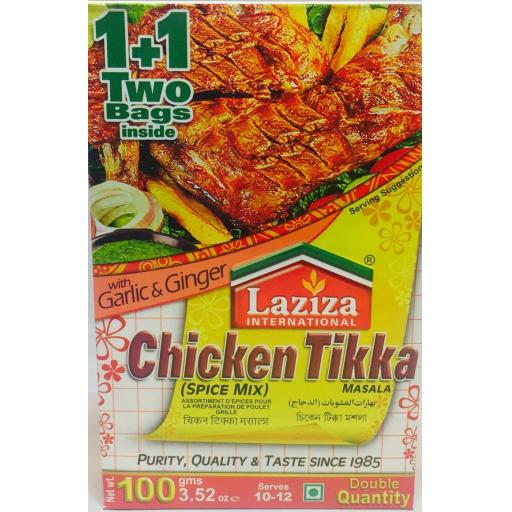 Laziza Chicken Tikka 100 grams