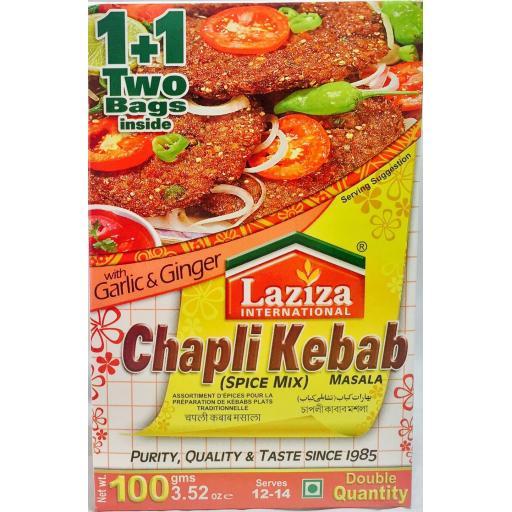 Laziza Chapli Kebab Masala 100grams