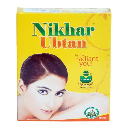 Marhaba Nikhar Uptan Face Scrub Powder 50 grams
