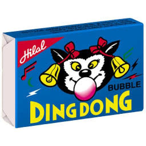 Hilal Ding Dong Chewing Gum 36 Pcs