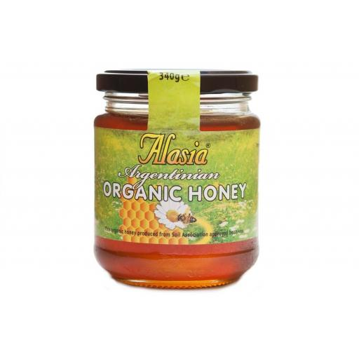 Alasia Organic Honey 340 Grams