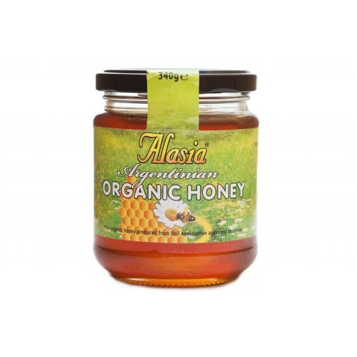 Alasia Organic Honey 340 Grams