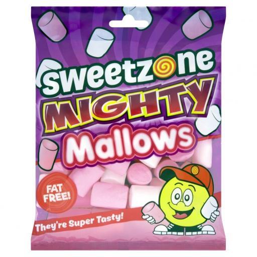 Sweet Zone: Mighty Mallows Marshmallows 140 Grams