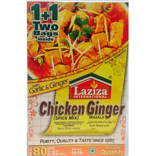 Laziza Chicken Ginger 80grams