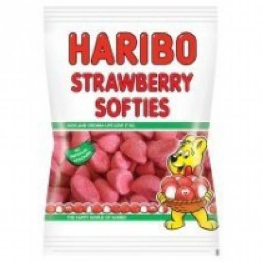 Halal Haribo Strawberries 100grams