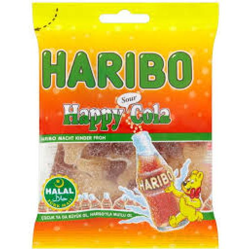 Halal Haribo Sour Cola 100grams