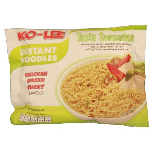 Kohlee Chicken Green Curry Flavour Noodles 85 grams