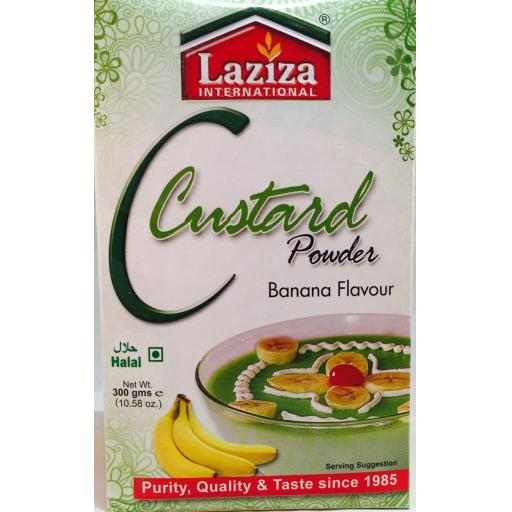 Laziza Banana Custard 300grams