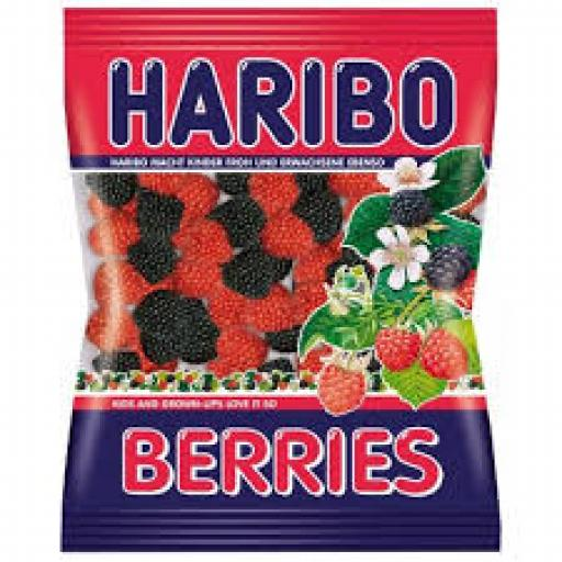 Halal Haribo Berries 100grams
