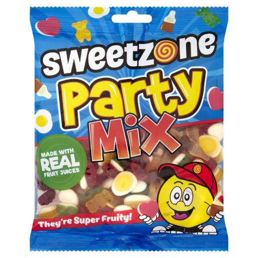 Sweetzone Jelly 100% HALAL Sweets PARTY MIX 200G