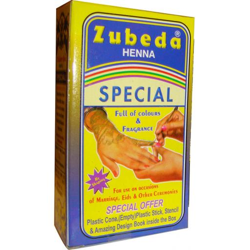 Zubeda Special Henna Powder Kit