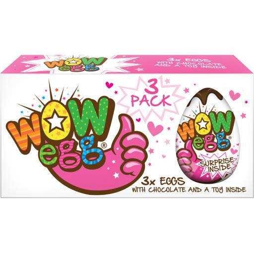 WOW Egg – Girls (3 Pack)