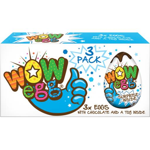 WOW Egg – Boys (3 Pack)