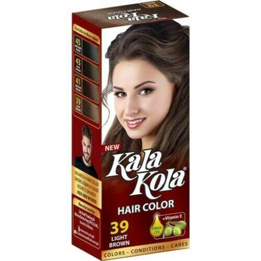 Kala Kola Hair Colour-39 Light Brown