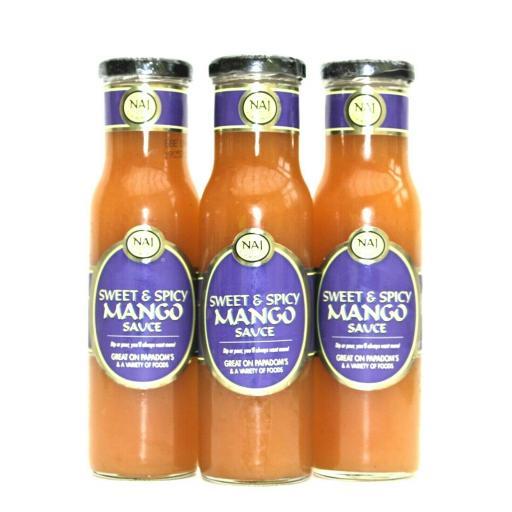 NAJ Smooth Mango Chutney Sauce 295g