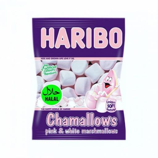 Haribo Chamallows Pink & White 70gr Halal