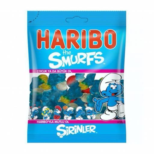 Haribo Halal Smurfs 80 grams