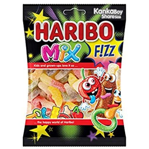 Haribo Fizz Mix 70gr Halal