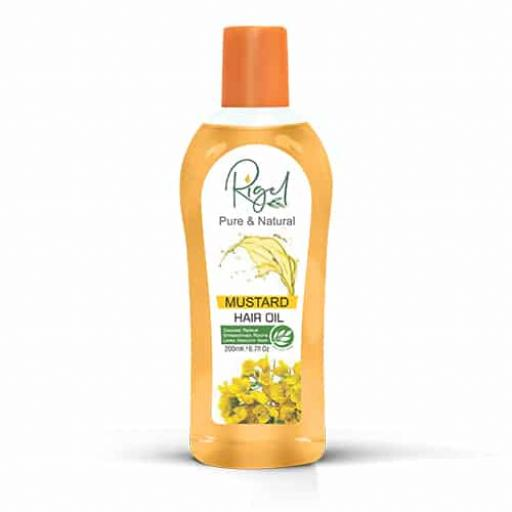 Rigel Mustard Hair Oil 200ml
