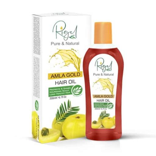 Rigel Amla Gold Hair Oil 200ml