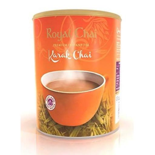 Royal Chai Karak Tub - Unsweetened 22 Servings (400g)