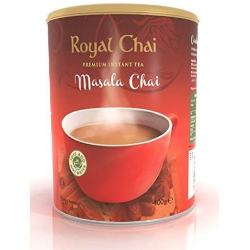 Royal Chai Masala Tub - Unweetened 22 Serving (400g)