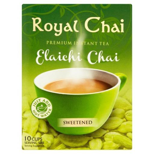 Royal Chai Elaichi - Sweetened 10 Serving (220g)