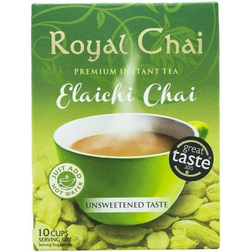 Royal Chai Elaichi - Unsweetened 10 Serving (220g)