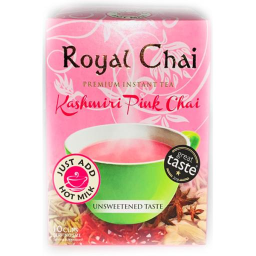 Royal Chai Kashmiri (Pink Tea) - Unsweetened 10 Serving (220g)