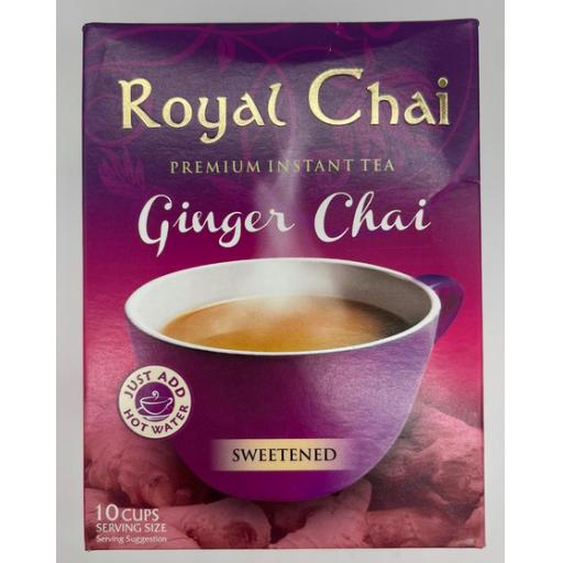 Royal Chai Ginger - Sweetened 10 Serving (220g)