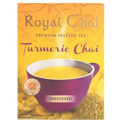 Royal Chai Tumeric - Sweetened 10 Serving (220g)