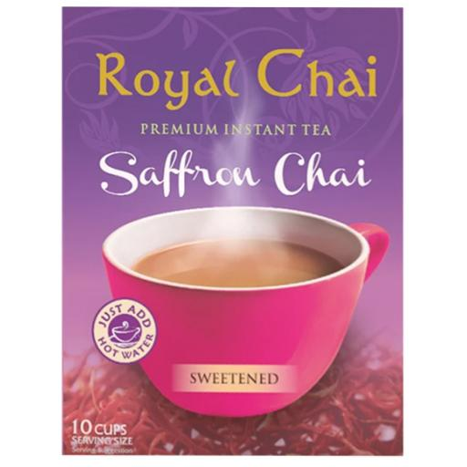 Royal Chai Saffron - Sweetened 10 Serving (220g)