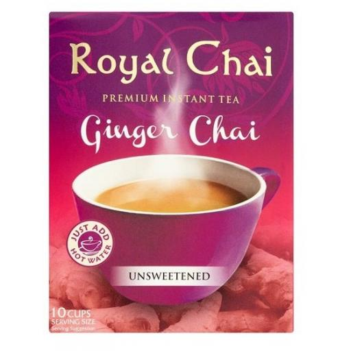 Royal Chai Ginger - Unsweetened 10 Serving (220g)