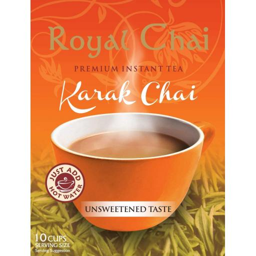 Royal Chai Karak - Unsweetened 10 Serving (220g)