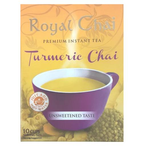 Royal Chai Tumeric - Unsweetened 10 Serving (220g)